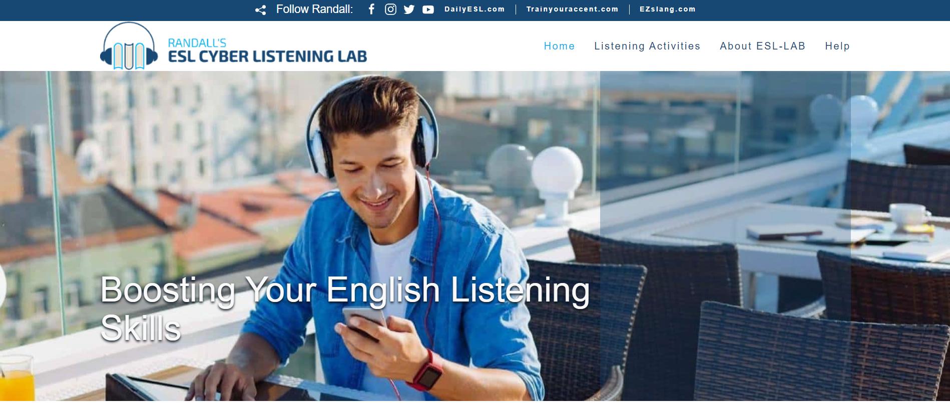luyện nghe cùng kênh esl