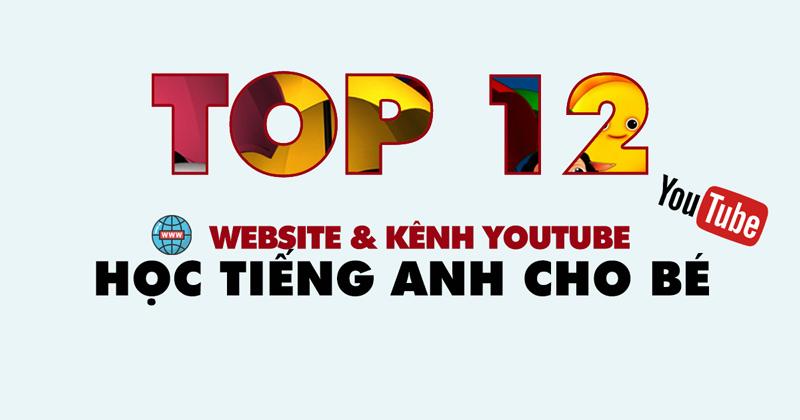 Top website kênh youtube học tiếng anh cho bé miễn phí