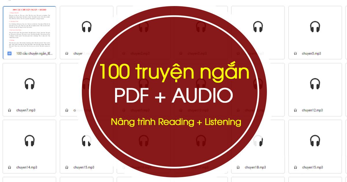 truyện ngắn song ngữ Anh - Việt